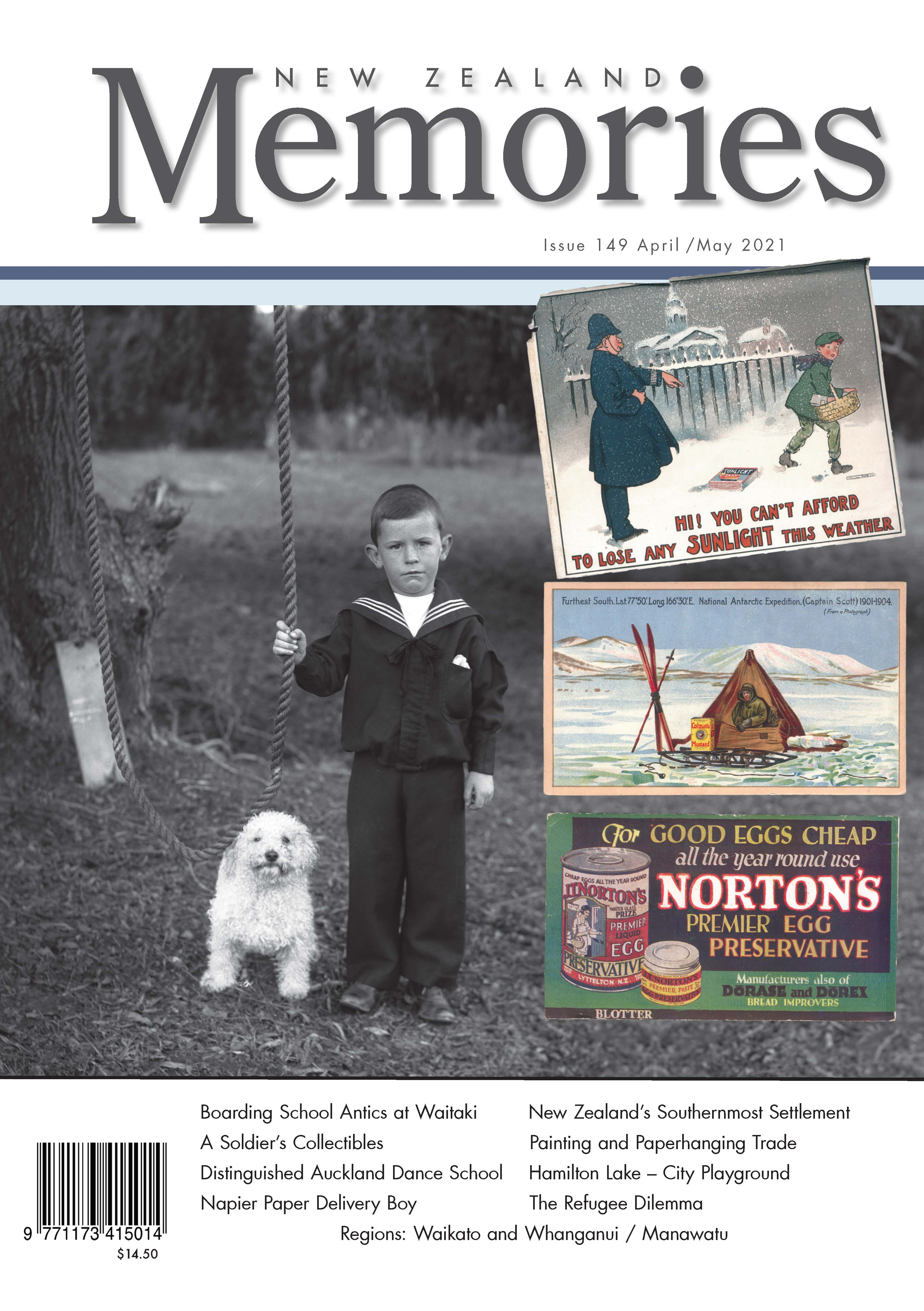 New Zealand Memories Issue 149