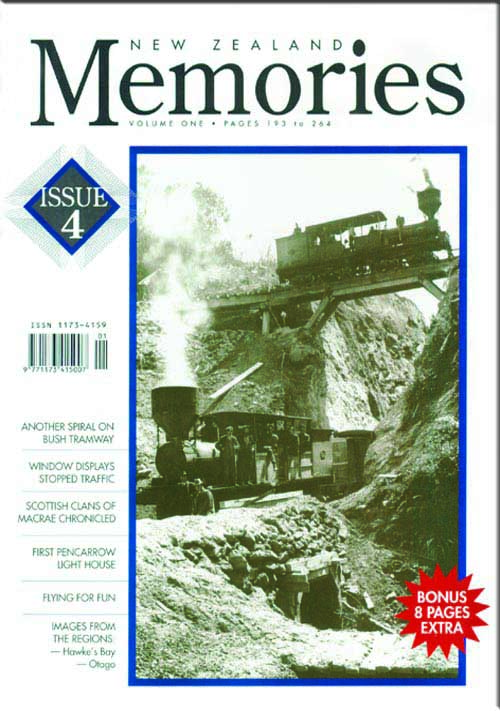 New Zealand Memories Issue 4